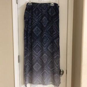 Maurice's Women's Ombré Maxi Skirt